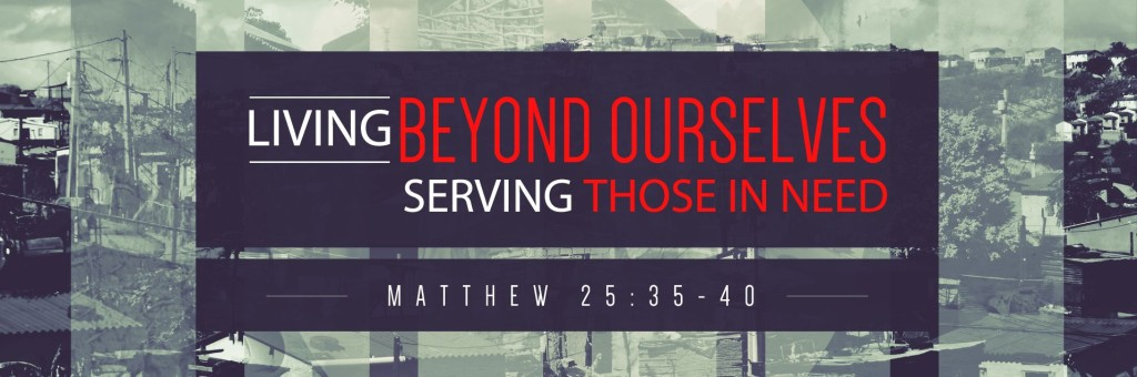 Living Beyond Ourselves Banner Skinny