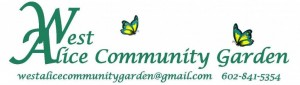 West Alice Community Garden Logo